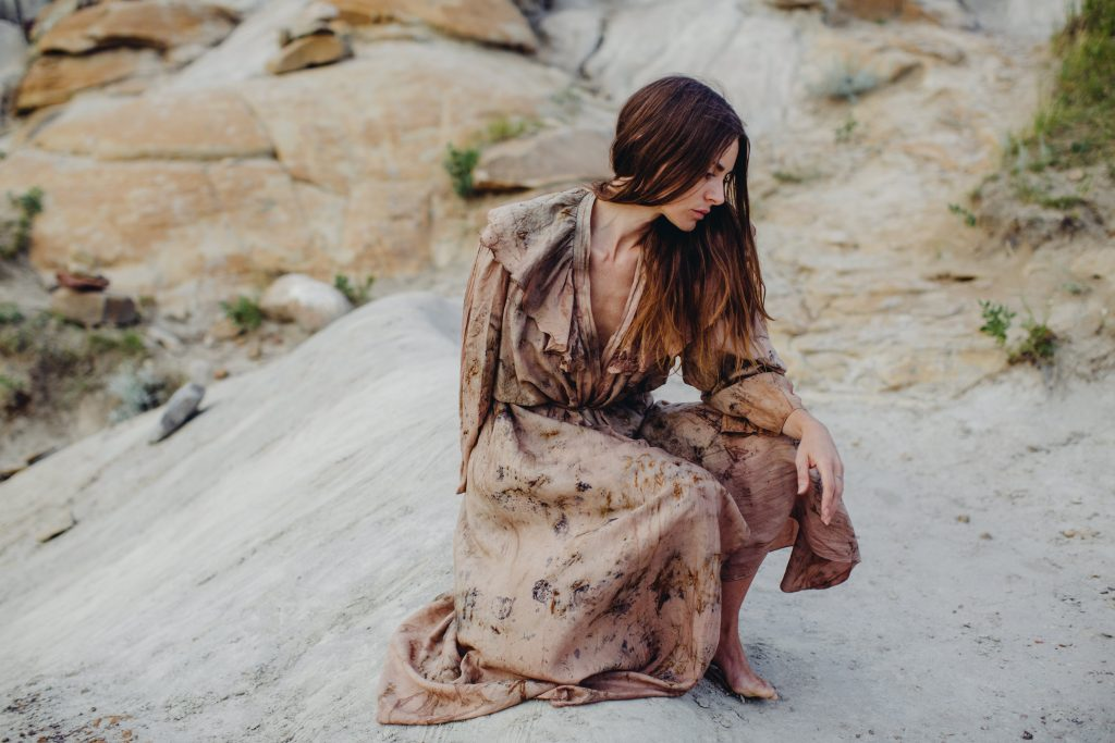 Eco Fashion Styled Shoot in Drumheller